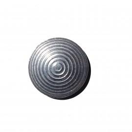 Clou podotactile 25 mm en aluminium