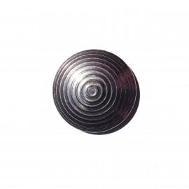 Plot podotactile 25 mm en inox passivé