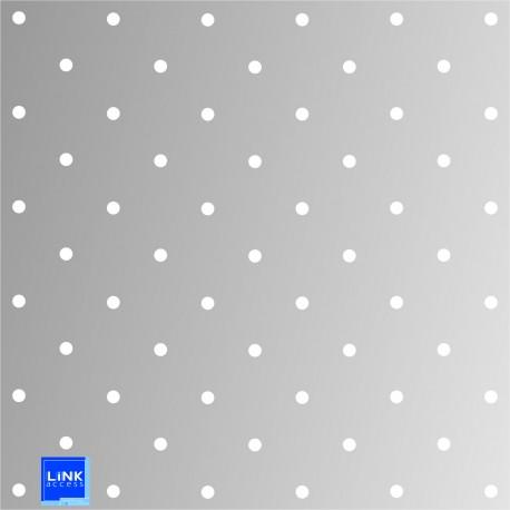 Gabarit de perçage en aluminium pour clou en diamètre 25 mm