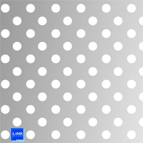 Gabarit de collage en dibond pour plot en diamètre 25 mm
