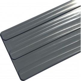 Bande de guidage polyuréthane 3 nervures 625 mm x 150 mm x 5 mm