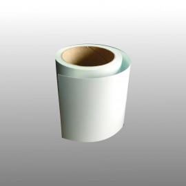 Bande adhésive en PVC teinté pour contremarche 100 mm - 10 ml - blanc