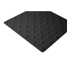 Dalle podotactile polyuréthane 450 mm autoadhésive
