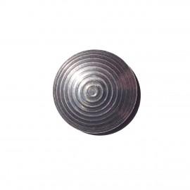 Plot podotactile 25 mm en acier zingué