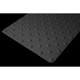 Dalle podotactile caoutchouc 800 mm autoadhésive