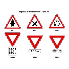 Signaux d'intersection - Type AB